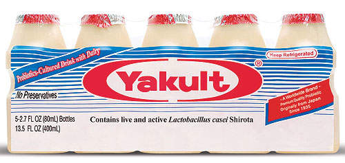 The market for Yakult is growing; in March 2014, an average of 23.41 million bottles were consumed a day.