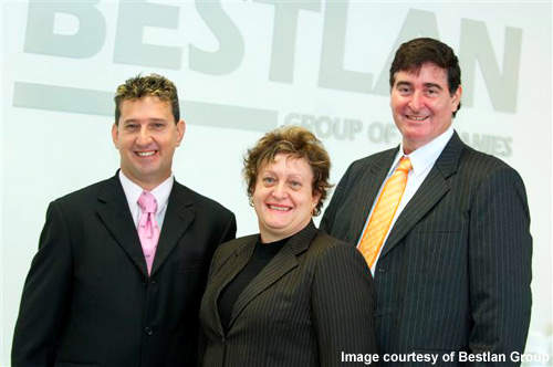 The three directors of the company(from left to right): Walter Rigoni, Nadia and Keith Moulds.