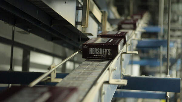 The expanded factory will manufacture brands such as Hershey's Bars, Hershey's Kisses, Hershey's Syrup and Rolo candy.