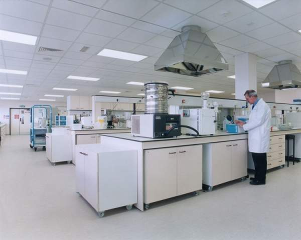 The product technology centre at York develops confectionery products and reformulates existing Nestlé products. Image courtesy of The Austin Company.