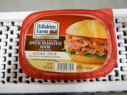 Sara Lee's premium brand Hillshire Farm® packed luncheon meat, which is produced at the new Kansas plant.