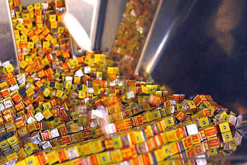 The plant produces iodine-enriched Maggi bouillon cubes.