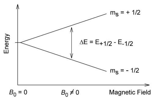NMR is a technique relying on magnetic spin of atomic nuclei being flipped between energy states by a powerful magnetic field.