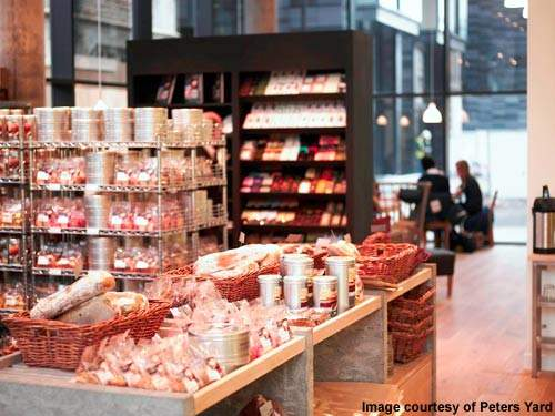 The new Edinburgh-based Peters Yard bakery produces a wide range of breads and pastries.