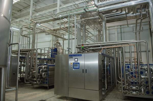 The plant is equipped with processing solutions supplied by Tetra Pak. Image courtesy of Tetra Pak.