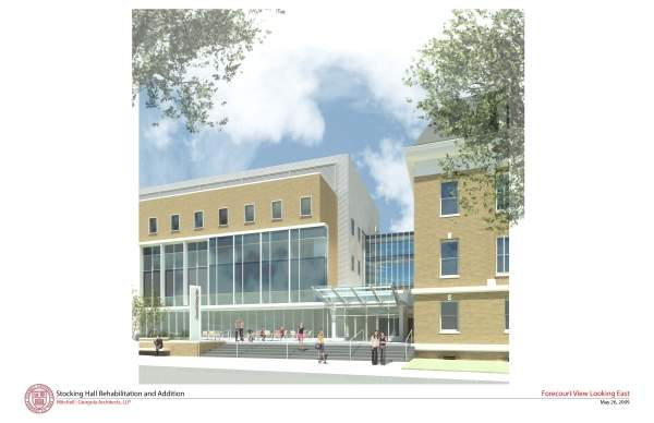 The project was part of the State University Capital Plan to provide a new facility for the CALS Department of Food Science. Image courtesy of Mitchell / Giurgola Architects, LLP.