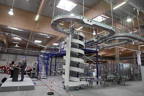The Nestlé Nutrition factory includes a 23m-high spray tower, and cooling and thermal insulation systems.