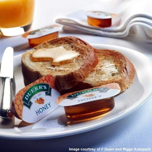 Honey is a new area for Duerr; the company has also launched a new marmalade containing a honey full of antioxidants.