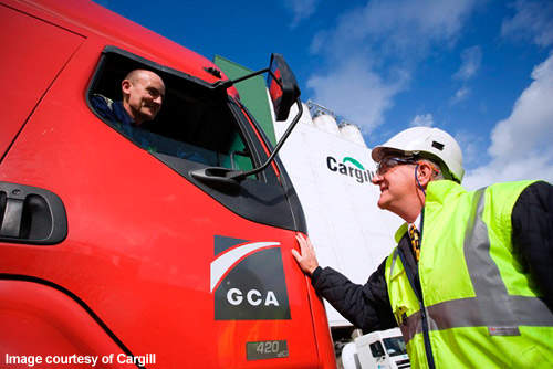 The wheat for the refurbished Cargill plant will be sourced by Frontier in the UK.