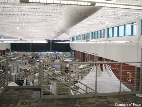 Tyson Foods' Discovery Center is considered a hub of food innovation.