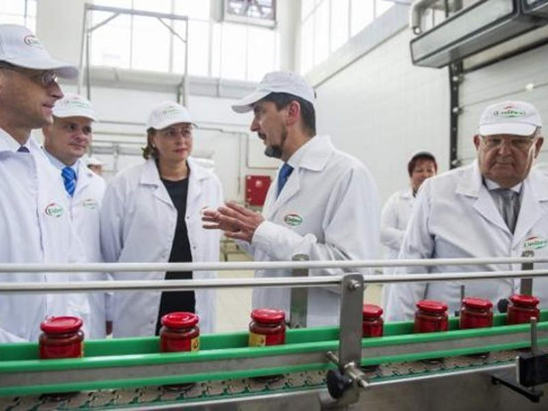 The upgraded tomato processing plant created 40 new jobs. Image courtesy of Univer Product Zrt.