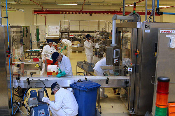 The expansion involved an investment of $30m. Image courtesy of Mondelez International.