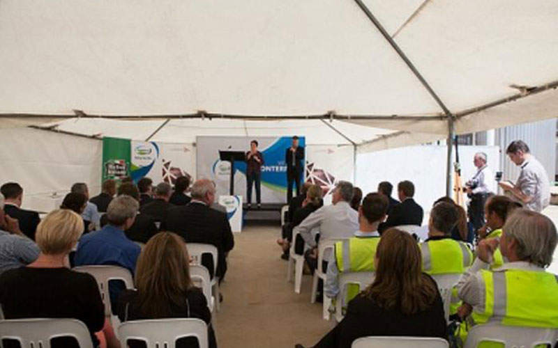 Fonterra will invest $90.7m in the project. Image courtesy of Fonterra Co-Operative Group.