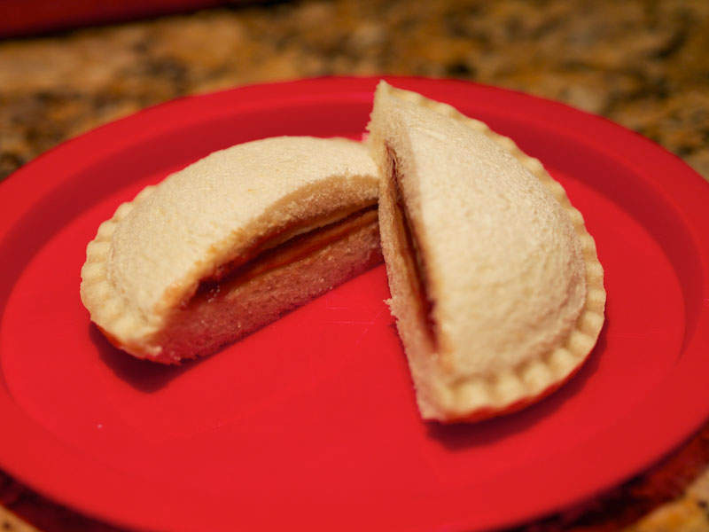 Uncrustables® are thaw-and-serve sandwiches available in a number of flavours. Image courtesy of Austin Kirk.
