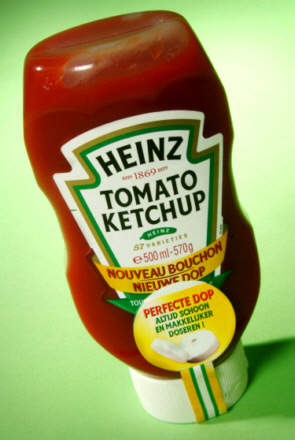 Ketchup production was moved to Holland in mid-1998.