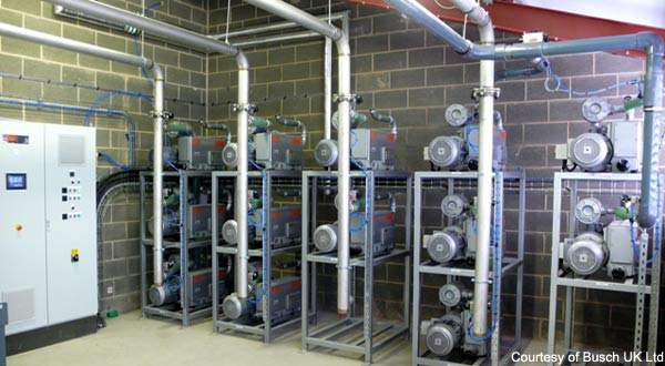 Busch UK Ltd Installed A New State Of The Art Vacuum System As
