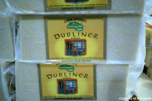 Dubliner is one of Kerrygolds's best known brands.