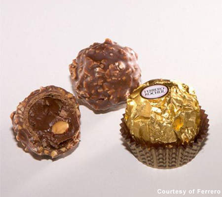 The Ferrero Rocher brand is also produced at the plant. The Ferrero Rocher chocolates were introduced in 1982.
