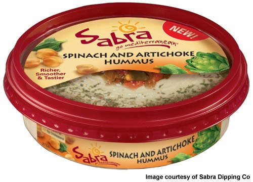 Sabra has a 40% market share in the hummus market in the US.