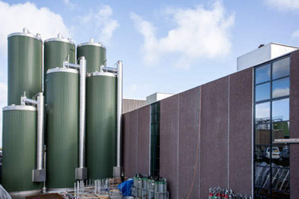 New filtration equipments were installed in August 2012 as part of the whey processing plant's expansion. Image courtesy of Arla Foods Ingredients Group P/S.