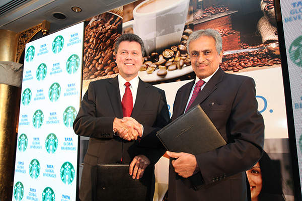 The Tata Starbucks joint venture was formed in January 2012.