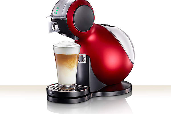 The Dolce Gusto allows consumers to make 30 varieties of hot and cold coffees. Image courtesy of Nestlé Germany AG.