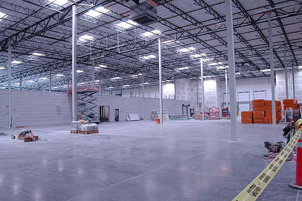 Interiors of the warehouse at the new Now Foods Nevada-based facility.