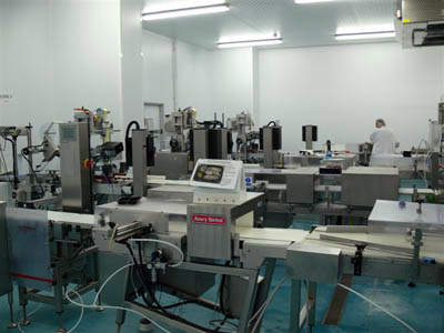 Avery Denisson labelling and packaging equipment.