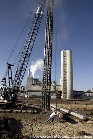 The Louisiana Sugar Refining project is capable of refining 3,100t of raw sugar a day.