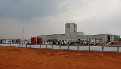 The Flowergate plant is built on a 12ha site and has space for an expansion.