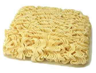 Ramen instant noodles are a Japanese invention, and are inexpensive and easily reconstituted.