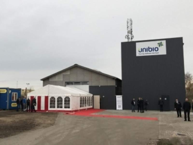 The Kalundborg production facility will produce 80t of sustainable animal feed a year. Image courtesy of Unibio.