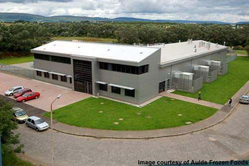 The new £7m Aulds factory opened in May 2007 after 18 months of planning and construction.