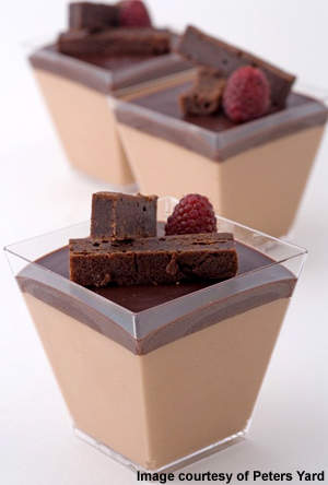 The bakery has four master bakers from Sweden. The chocolate mousse is another bakery speciality.