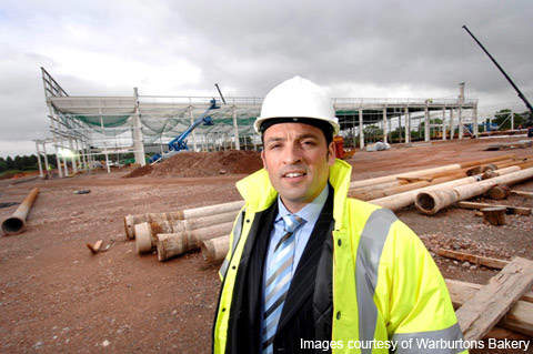 David Williams the General Manager of the Bristol site at the new development.