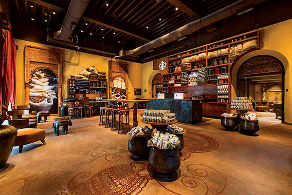 The Tata Starbucks joint venture opened its first outlet in Mumbai in October 2012.