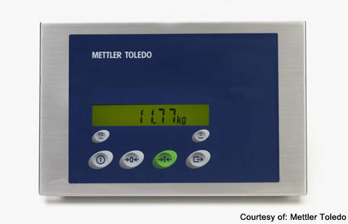 The Mettler Toledo weighing solution allows the keypad to be fully portable.