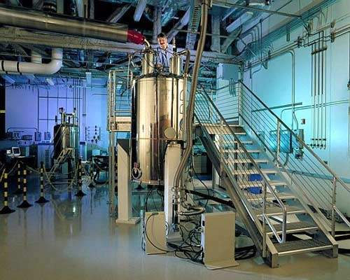 NMR spectrometers have previously used huge super-conducting magnets but the new developments of the Halbach NMR will use much smaller magnets for the measurements required.