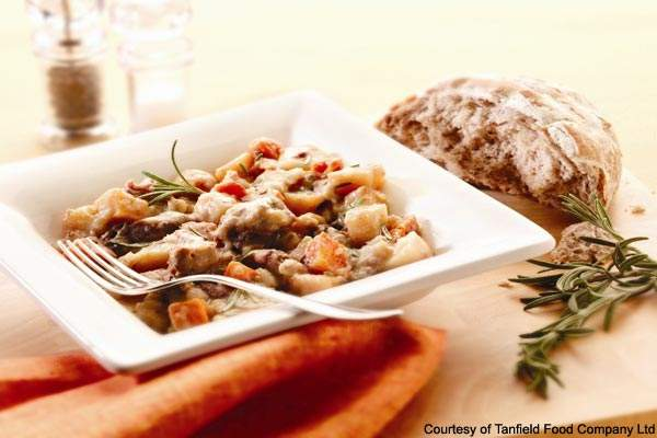 Tanfield produces tasty ready meals for the premium market.