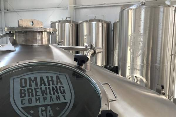 The latest expansion will help meet the growing demand for the company's craft beer in South Georgia and improving the supply chain across the state. Image courtesy of Omaha Brewing Company.