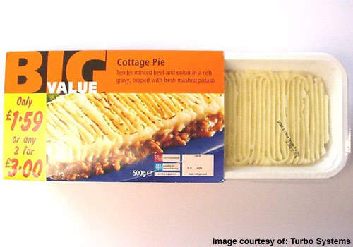 A ready-to-cook cottage pie is one of the many meals made for Tesco.