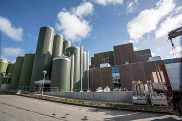 The expansion has significantly increased the annual capacity of the plant to process as much as 4.5 billion kilos of whey, from the previous capacity of 2.5 billion kilos. Image courtesy of Arla Foods Ingredients Group P/S.