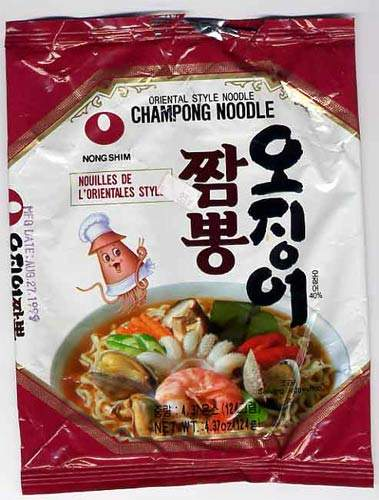 Nong Shim holds 31% of the savoury snack market in Korea and 72% of the instant noodle market.