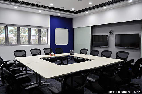 Conference room of the NSF Shanghai Testing Technology Company.