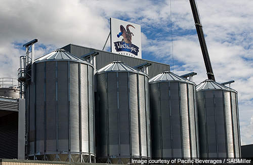 The Bluetongue Brewery has an initial capacity of 50m litres a year.