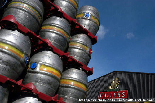 Fuller's has approximately 360 pubs in London and the South East.