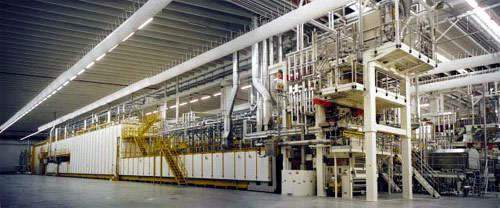 8,000kg/h long goods production line.