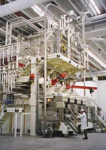 8,000kg/h pasta press.