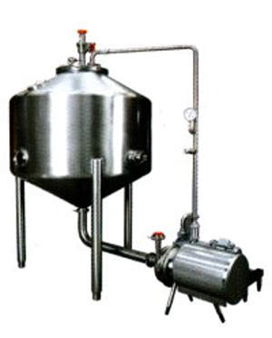 APV pasteurisation equipment for the treatment of raw milk.