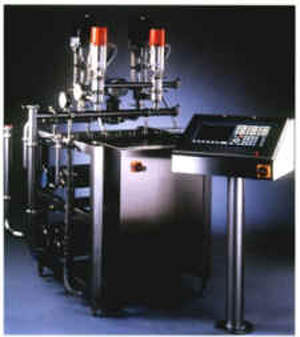 Compomaster fat standardisation unit used in pre-processing of milk.